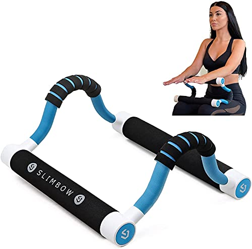 Low Impact at Home Workout Equipment - Multifunctional Exerciser for Abs, Thighs, Glutes, Calves, Upper and Lower Body, Lightweight, Portable and Compact Exercise for Total Body Toning and Strength