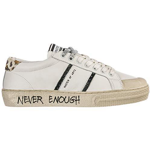 MOA Master of Arts Damen Sneaker Bianco 40 EU