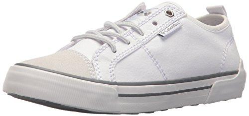 Columbia Goodlife™ Lace, Zapatillas Casual Mujer, Blanco (White, Ti Grey Steel), 43 EU