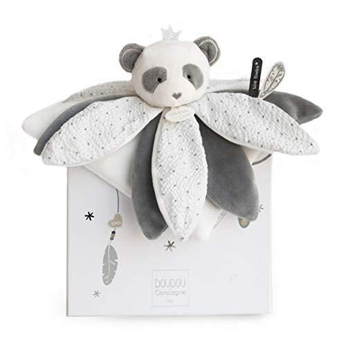 Doudou et Compagnie Attrape-REVE - Panda Doudou Pétales