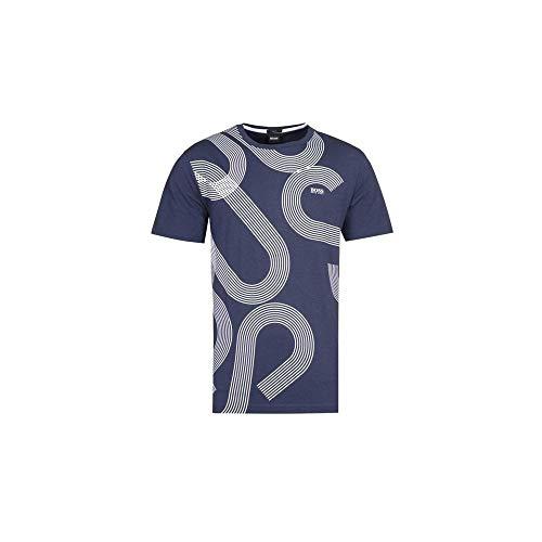 Photo of Hugo Boss Tee 7 Cotton Regular Fit Navy T-Shirt XXL