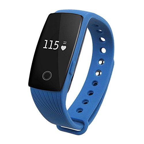 chebao, Reloj inteligente, reloj inteligente con pantalla táctil, pulsera inteligente, monitor de frecuencia cardíaca, ID107 - 105516.05