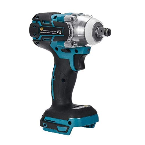 Electric Impact Wrench 20V 520Nm Torque Wrench Cordless Power Tool 1/2 inch Brushless Electric Screwdriver
