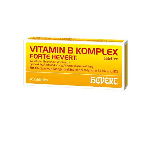 Vitamin B Komplex forte Hevert Tabletten, 20 St. Tabletten