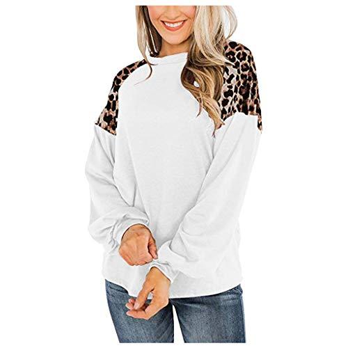 ELECTRI Blouse Femmes Imprimé Tunique Femmes Chic Chemisier Automne et Hiver T-Shirt Bureau Travail Chemise Femmes Sexy Tops Tunic Sweatshirt Haut