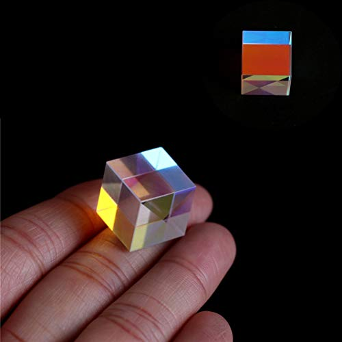 mansum 1PC 5W Prism Laser Beam Combine Cube Prism For 405nm~ 450nm Blue Laser Diode For Optical Instruments Prism Mirror