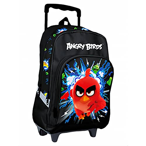 ARTIMBAL Sac à dos à roulettes Angry Birds RED 40 cm