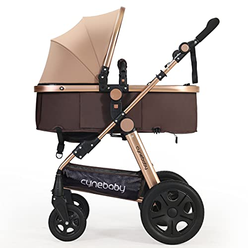 Product Image of the Infant Baby Stroller for Newborn and Toddler - Cynebaby Convertible Bassinet...
