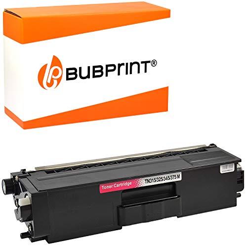 Bubprint Toner kompatibel für Brother TN-325 TN-320 TN-328 für DCP-9055CDN DCP-9270CDN HL-4140CN HL-4150CDN HL-4570CDW MFC-9460CDN MFC-9465CDN Magenta
