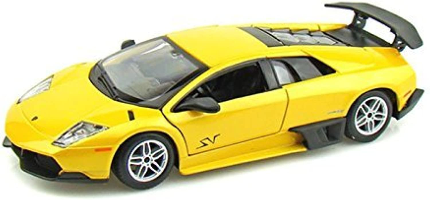 Lamborghini Murcielago LP6704 SV 1 24 Yellow by Collectable Diecast