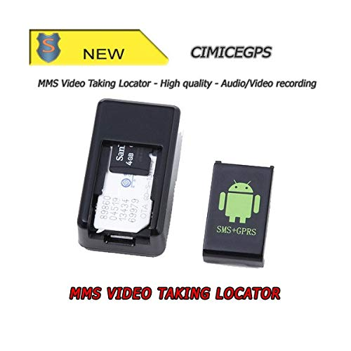 Cimice espía con ranura SIM–SMS/GPRS–grabación audio/video–setik
