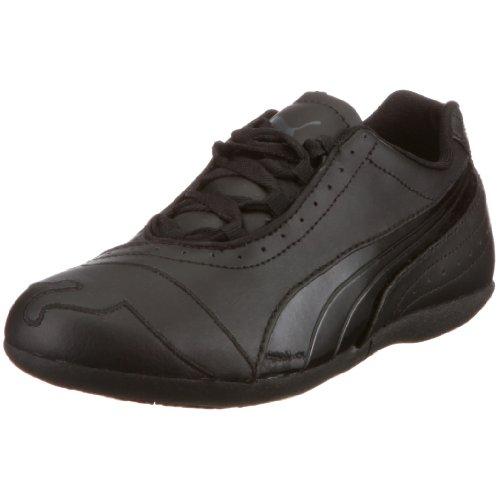 PUMA 350479 01 Lyla Glitter Jr - Zapatillas para niña, Color Negro, Talla 29 EU