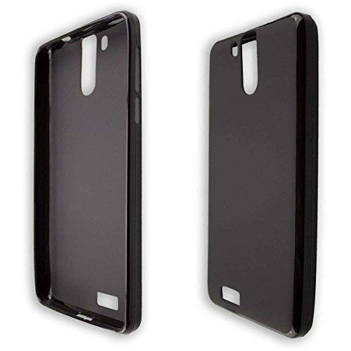 caseroxx TPU-Hülle für Oukitel K6000 Pro, Handy Hülle Tasche (TPU-Hülle in schwarz)