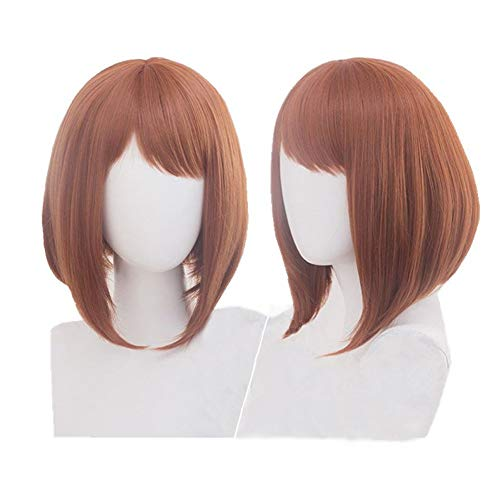 Cosplay Short Brown Anime Party Wig