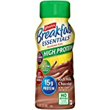 Carnation Breakfast Essentials High Protein Ready-to-Drink, Rich Milk Chocolate, 8 Ounce Bottle (Pack of 24)