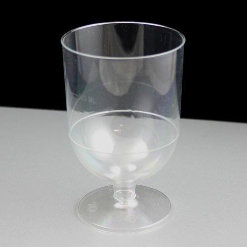 Wegwerp wijnglas, 125 en 175 ml, CE-reliëf, 10 stuks