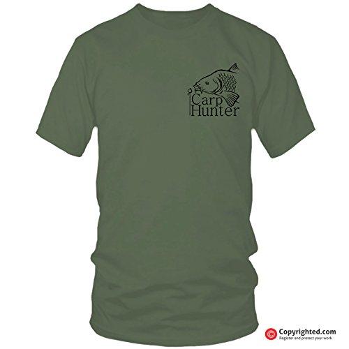 QBEC CARP HUNTER (s) fishing t-shirt (L)