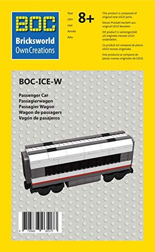 Lego City Eisenbahn Waggon Personenwagen ICE aus Set 60051