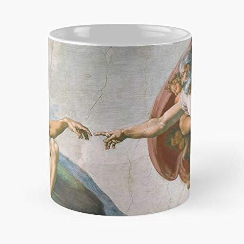 Sweetworldstore Retro Sistine Vintage Michelangelo Tumblr Miguel Angel Chapel Rome Taza de...