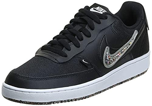 Nike Court Vision Lo Prem Hombre Trainers DJ1974 Sneakers Zapatos (UK 7 US 8 EU 41, Black Black Clear 001)