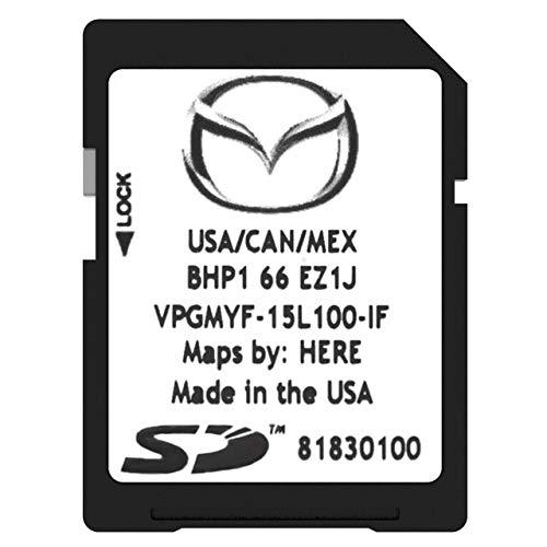Mazda SD Navigation Card BHP166EZ1J | Latest Update 2019 | Mazda 3 6 CX-3 CX-5 CX-9 GPS