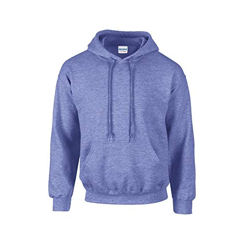 Gildan Heavy Blend Fleece Hooded - Sudadera con capucha para hombre Blu Reale Screziato M