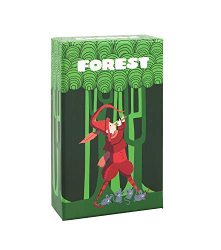 Gen x games- Forest Juego de Mesa, Color Neutro (7640139531377)