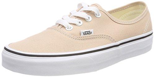 Vans Authentic, Zapatillas para Mujer, Beige (Beige/weiß Beige/weiß), 36 EU