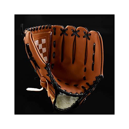 Windlia Outdoor Sports Three Colors Baseball Glove Softball Practice Equipment Left Hand for Adult Man Woman,10.52