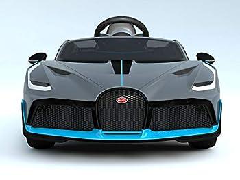 Bugatti Divo Ride On Car For Kids GREY