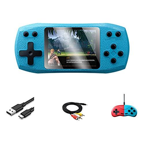 Kuashidai Consola de juegos de mano retro portátil pantalla a color jugador incorporado 620 juegos para viajes camping y otras actividades al aire libre
