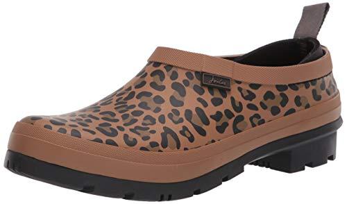 Tom Joule Damen Pop On Gummistiefel, Tan Leopard, 39 EU