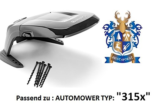 Original . Automower Abdeckung / passend zu Automower 315x / incl. Bodenschrauben