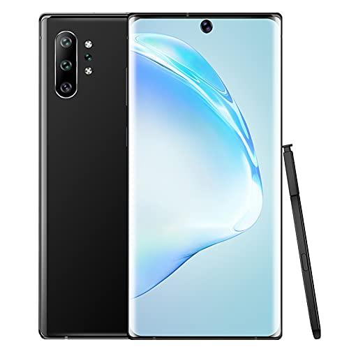 Smartphone Dual Sim de 6,8 pulgadas, Pantalla curva, Pantalla táctil de 5 puntos, Desbloqueo facial, Despertar inteligente, 1440x3040, 4800 mAh, Teléfono Android para Android 10.0(ENCHUFE DE LA UE)