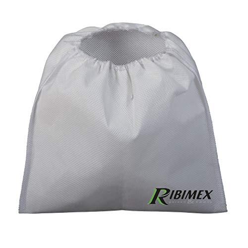 Ribimex PRCEN000/CF Prefiltro Autoestinguente per Aspiracenere, Grigio