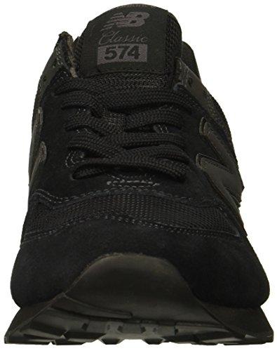 New Balance 574 Core, Zapatillas Hombre, Negro (Black ETE), 44 EU