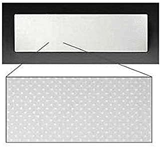 Eckler's Premier Quality Products 40-160151 Full Size Chevy Radio Delete Plate,