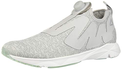 Reebok Unisex-Adult Pump Supreme Basketball Shoe, ice-Skull Grey/tin Grey/w, 7 M US