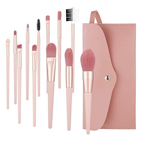 Firtink 12 Stück Make Up Pinsel Set Professionelles Hochwertiger Augenpinsel Pinselset Beauty Tools...