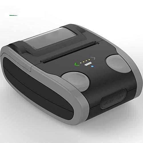label printer draagbare Bluetooth thermische printer zelfklevende barcode label printer thermisch Zwart