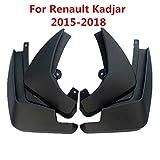 DHFBS Autoreifen-Schmutzfänger Für Renault Kadjar 2015-2018, Auto Schmutzfänger Spritzschutz Schmutzfänger Auto Styling Zubehör