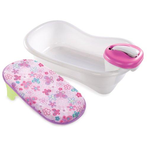 Summer Newborn to Toddler Bath Center and Shower, Blue