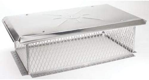 Gelco Multi-Flue 3 4'' Mesh Cap New mail order - x with 23'' 40'' Challenge the lowest price of Japan Overhang