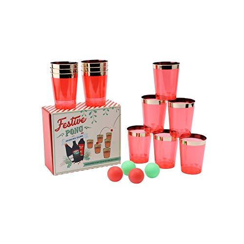 Feestelijke pong drinken spel - GB02137