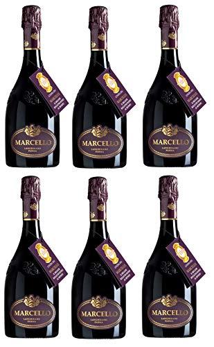 Marcello Lambrusco IGP Gran Cru [ 6 Bottiglie x 750ml ]