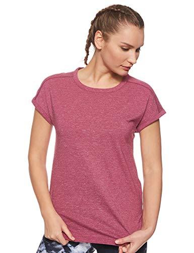 Columbia Kurzärmliges T-Shirt für Damen, PILSNER PEAK TEE, Baumwolle, Violett (Wine Berry), Gr. M, 1836731
