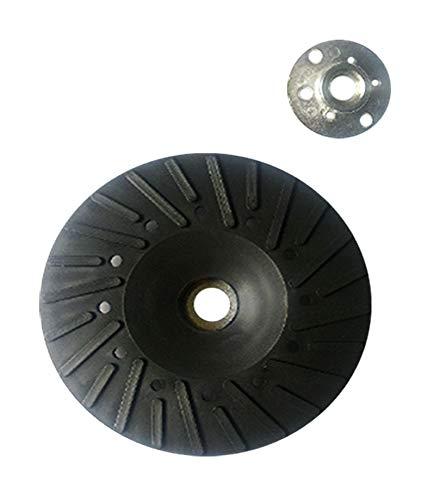 2 piatti di supporto da 100 mm, platorello Flex piatto, trapano in fibra