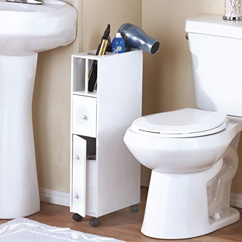 The Lakeside Collection Space-Saving Bathroom Organizer - White