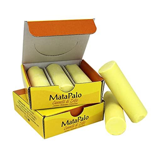 Cannelli di Zolfo - Rimedio naturale per Crampi e Torcicollo - Efficace contro dolori articolari e muscolari -...
