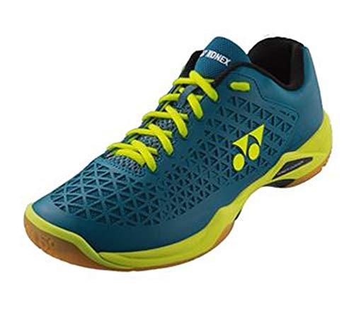 YONEX Eclipsion X Badminton Shoe, Turquoise/Yellow